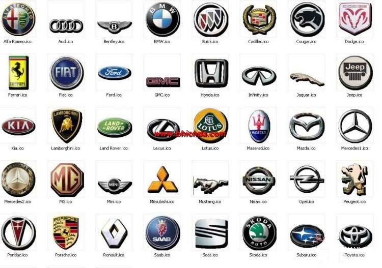 All Cars Symbols With Names >> Car Logos | Cars Show Logos