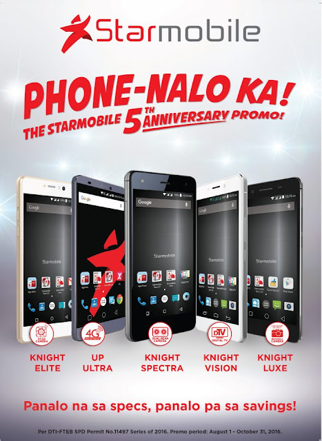Starmobile Holds 5th Year Anniversary Sale, Price Slash up to PHP 5,500