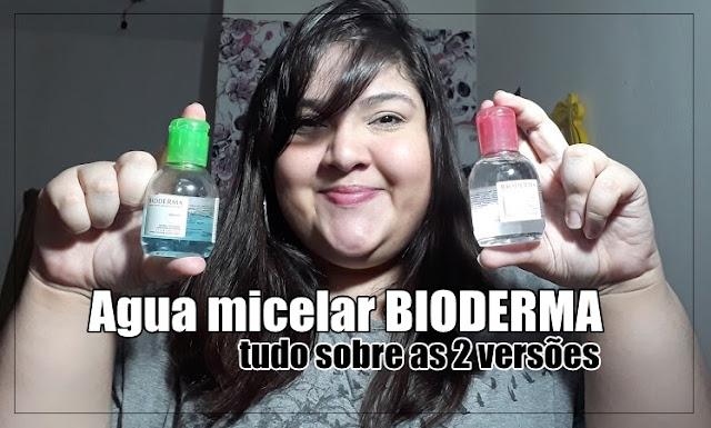 Pele limpa com Sébium e Sensibio H2O da Bioderma