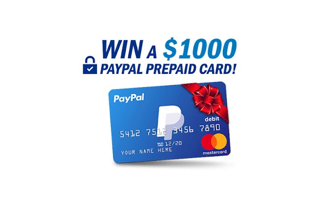 Get a $1000 PayPal Gift Card Now! | Claim Free PayPal Money