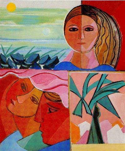 Fuguras - Cícero Dias e suas principais pinturas ~ Pintor pernambucano