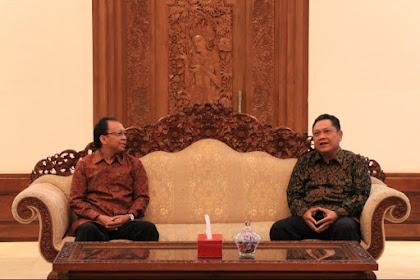 Mendadak Wali Kota Denpasar Temui Wayan Koster, Ada Apa?
