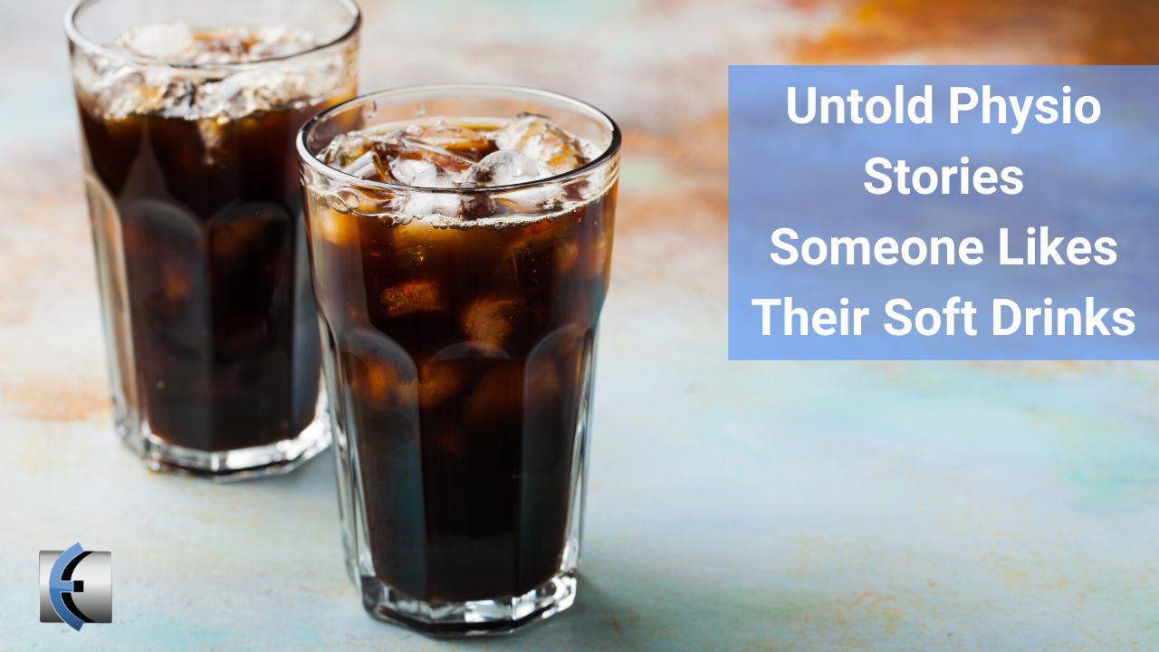 Untold Physio Stories Podcast - Someone Likes Their Soft Drinks with Sean Wells - themanualtherapist.com