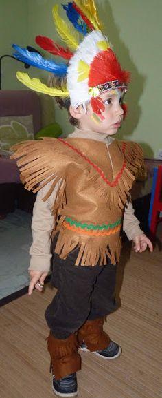 Como hacer un disfraz casero de indio con ropa reciclada