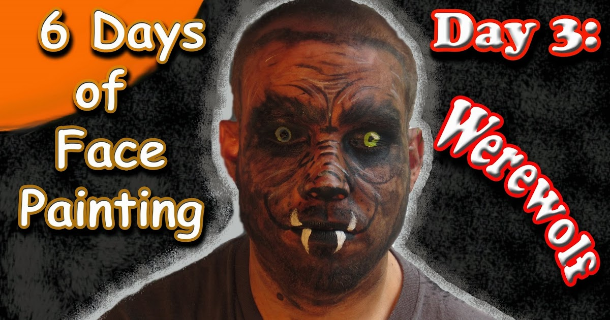 Easymeworld Halloween Werewolf Face Painting Tutorial