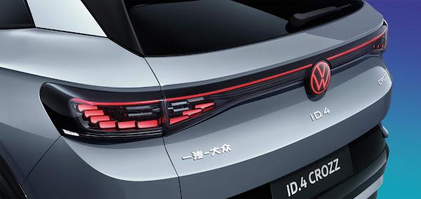 SUV´s elétricos Volkswagen ID.4 X e Crozz chegam à China