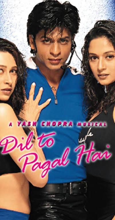 दिल तो पागल है फिल्म के गाने Dil To Pagal hai Movie Songs.