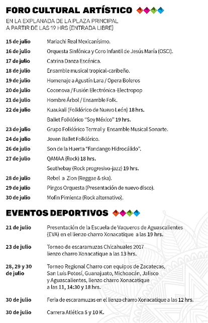 programa feria chicahuales 2017