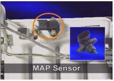 Manifold absolute sensor