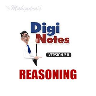 Digi Notes : Reasoning