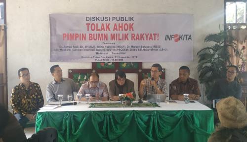 Rakyat Bersama Jokowi Jika Berani Tolak Ahok Pimpin BUMN