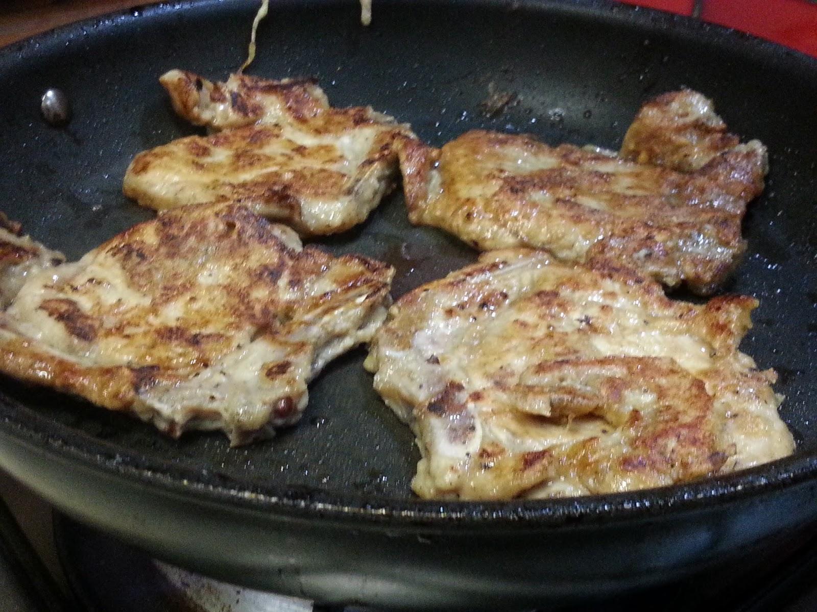 Pat's Kitchen Journal: Pan fry Pork Chop (Asian style)
