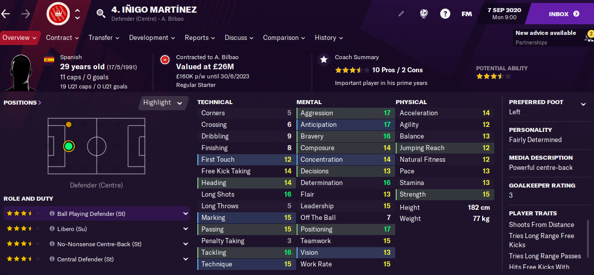 FM21 Inigo Martinez