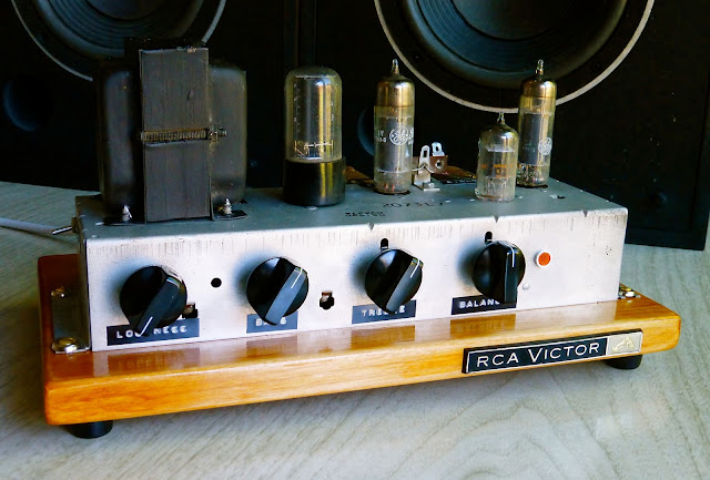 Jim Clifford, Jimmy Clifford,RCA, Victor, RS-193, Single ended, tube amp, stereo, hi-fi, high fidelity, 6BQ5, EL84, 1960s, project, 6EU7, 5Y3, console tube amplifier, Class A,