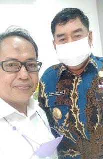 Asdar Akbar bersama DR. Abdul Hayat Gani