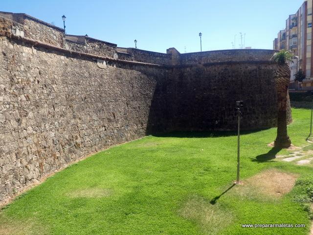 baluartes de Badajoz