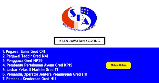 jawatan spa malaysia
