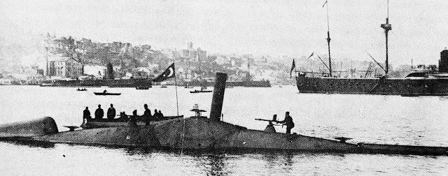 ottoman navy warships