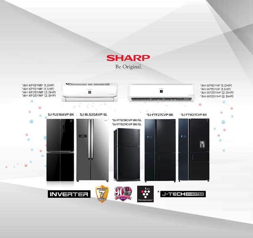 Here's to Cooler Summers with Shapr J-Tech Inverter Refrigerator and Airconditioner