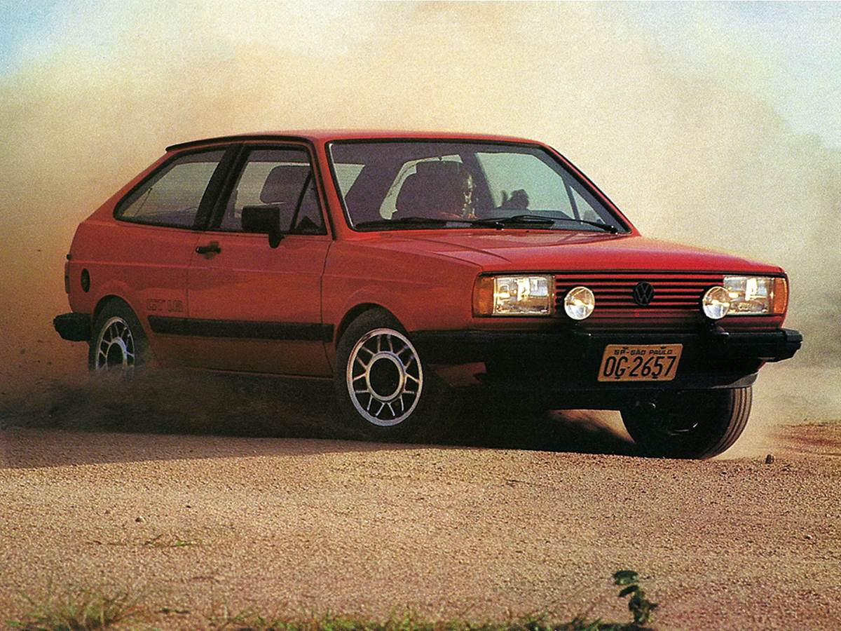 VW Gol Gt 1984