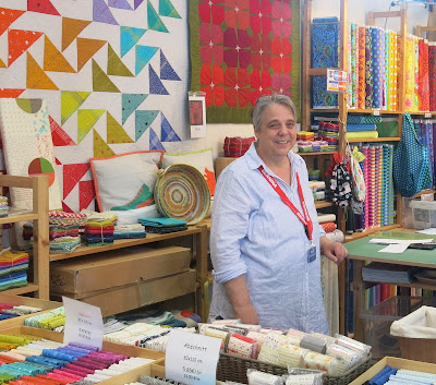 QuiltCabin booth at Nadelwelt Karlsruhe 2018