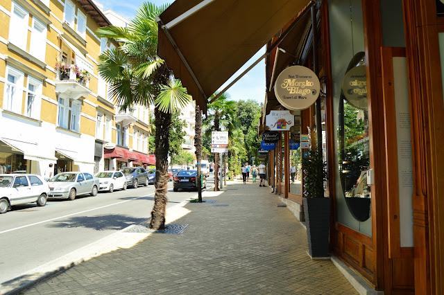 Opatija streets