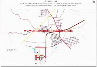 Bán đất đường Phan Bội Châu Buôn Ma Thuột 2 tỷ 900