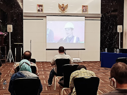 Presiden Joko Widodo Resmikan Pelabuhan Patimban