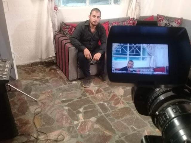 """""""عمر الشامي """"انطلاقتي الاولى في عالم التمثيل مع المخرج محمد عبود وقريبا في عدة أعمال فنية متنوعة من كتاباتي"""
