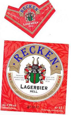 Schlossbrauerei Reckendorf/Reckendorf: Lager Hell (Nr. 36)