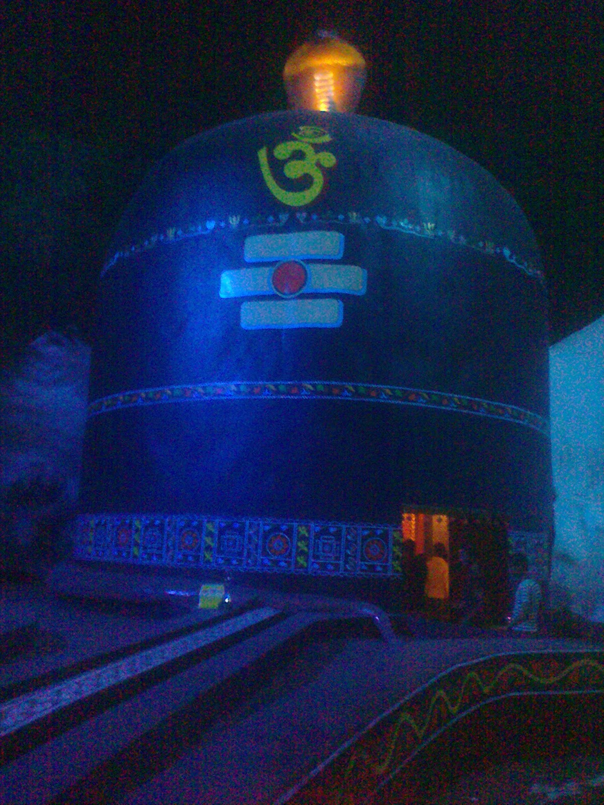 Shivalinga themed Durga Puja Pandal at Golabari, Howrah