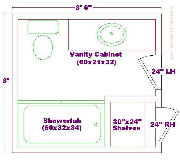 Foundation Dezin & Decor...: Bathroom plans & views.