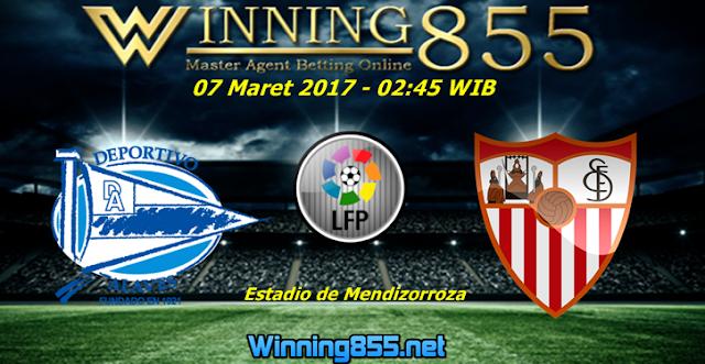Prediksi Skor Deportivo Alaves vs Sevilla 07 Maret 2017