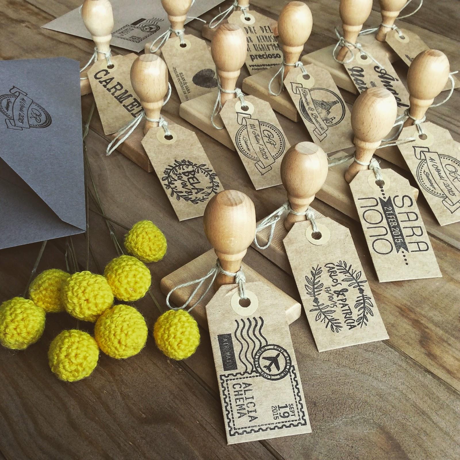 sellos personalizados para invitaciones de boda originales