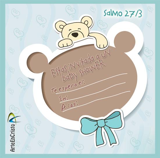 Invitación Para Baby Shower Con Texto Biblico Imagui