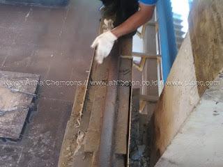 grouting struktur balok beton