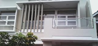 harga railing tangga kaca surabaya