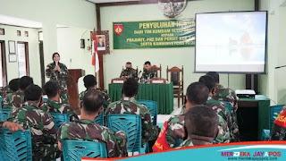 Tim Kumdam IV/Diponegoro Beri Penyuluhan Hukum di Kodim 0719/jepara