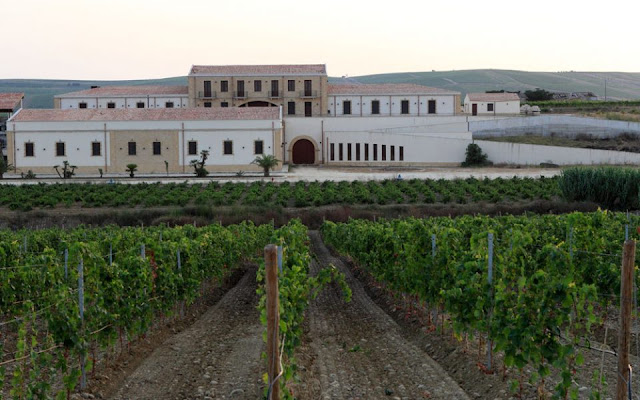 Assuli Baglio winery in Sicily