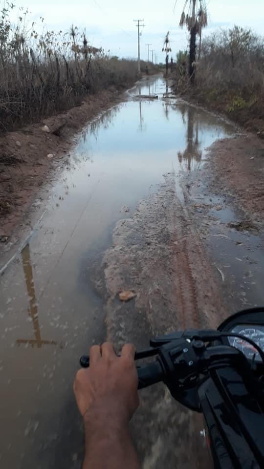Temporal com granizo assusta moradores de Estreito dos Martins em Granja/CE