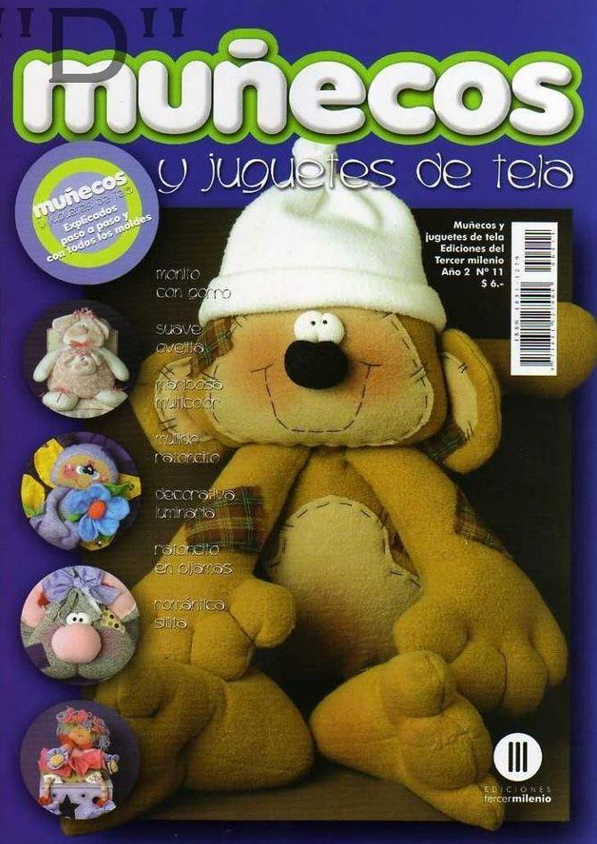Muñecos y Juguetes de tela Nro. 11