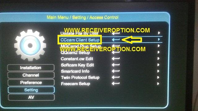 ECHOLINK 70D HD RECEIVER CCCAM OPTION