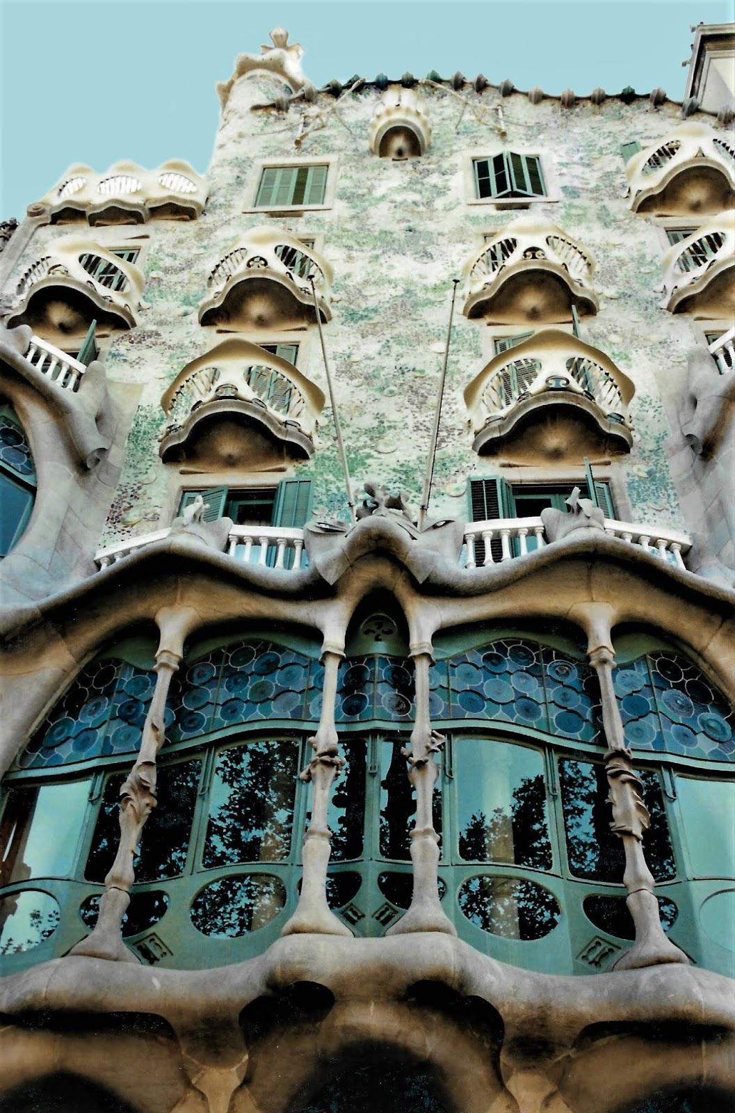 Gaudis værker i Barcelona