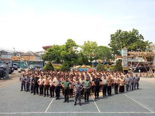 TNI AL Cirebon  Gelar Kemah Bhaktii Genta Bahari 2019