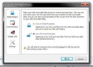 حماية الفلاشة من الفايروسات وجعلها للقراءة فقط مع برنامج USBDiskManager