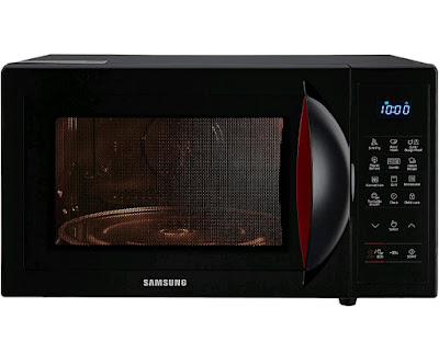 Samsung 28 L Convection Microwave Oven (CE1041DSB2/TL, Black, SlimFry) | Samsungstore