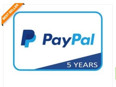 Buat Akun Paypal Verified 5 Tahun