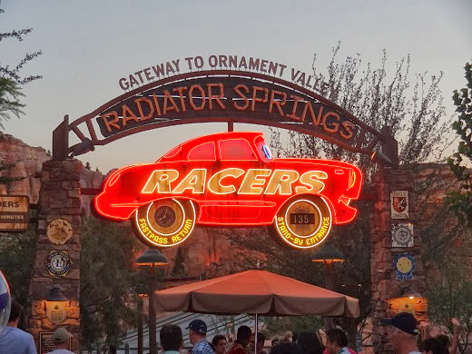 MORE KIDS THAN SUITCASES: Cars Land Tips - Brought to You by the Letter S