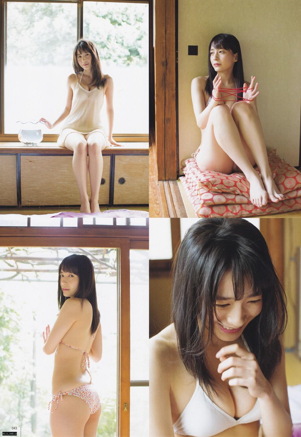 Sasaki Yukari 佐々木優佳里 AKB48, UTB Magazine 2016.07 Gravure