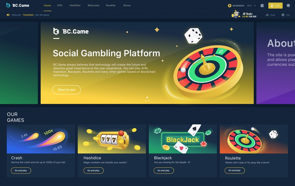 Best Crypto Earn Best Online Gambling Site Bc Game Review